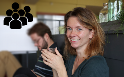 Annelinde Vandenbroucke says goodbye to the lab